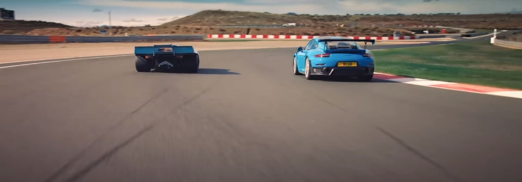 Porsche 917 vs Porsche 911 GT2RS on the test track