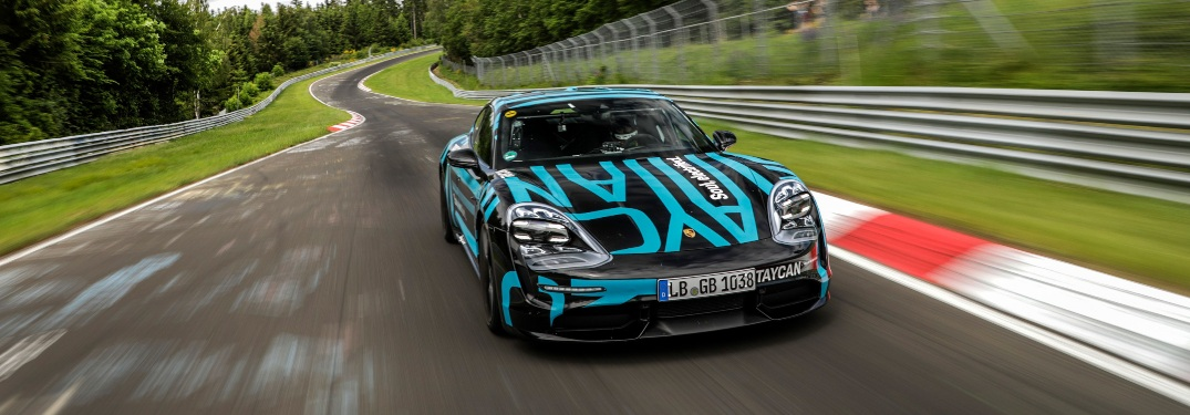 New Porsche Vehicle Sets Best Lap Time for Segment