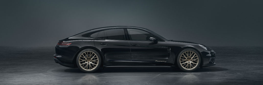2020 Porsche Panamera 10 Year Edition Exterior Passenger Side Profile