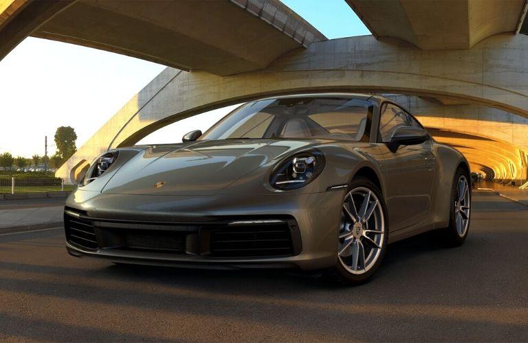 Aventurine Green Metallic 2019 Porsche 911 Carrera