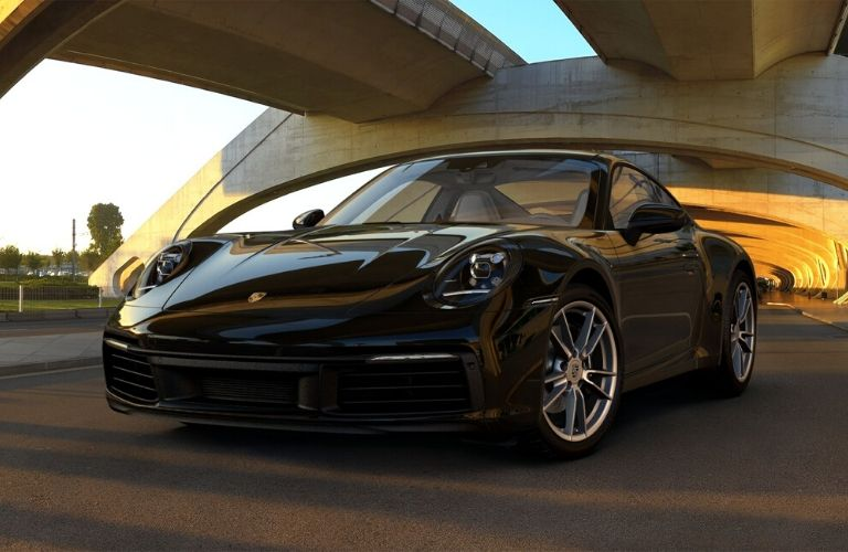 Black 2019 Porsche 911 Carrera
