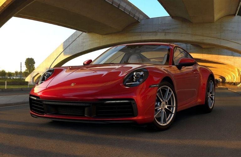 Carmine Red 2019 Porsche 911 Carrera