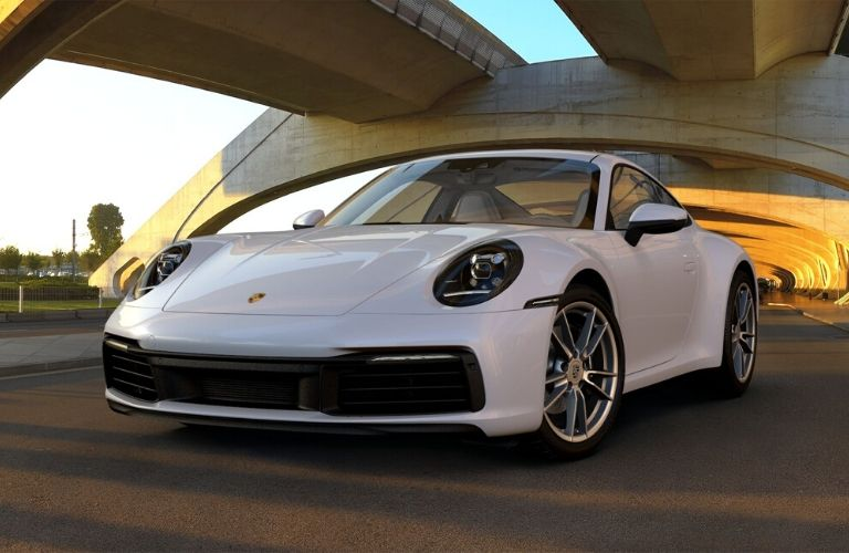 Carrara White Metallic 2019 Porsche 911 Carrera