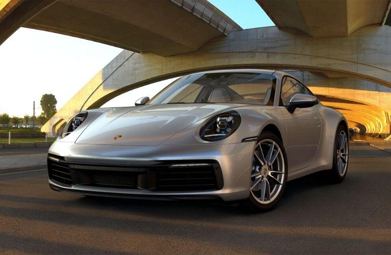 Dolomite Silver Metallic 2019 Porsche 911 Carrera