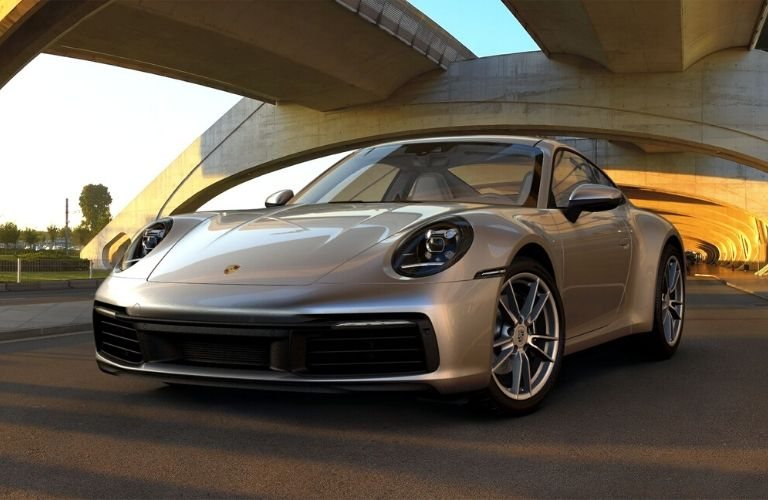 GT Silver Metallic 2019 Porsche 911 Carrera