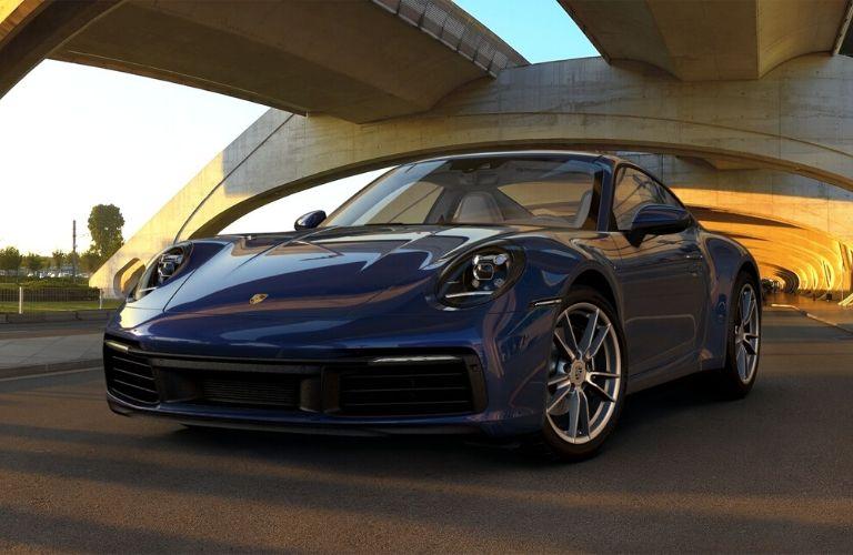 Gentian Blue Metallic 2019 Porsche 911 Carrera