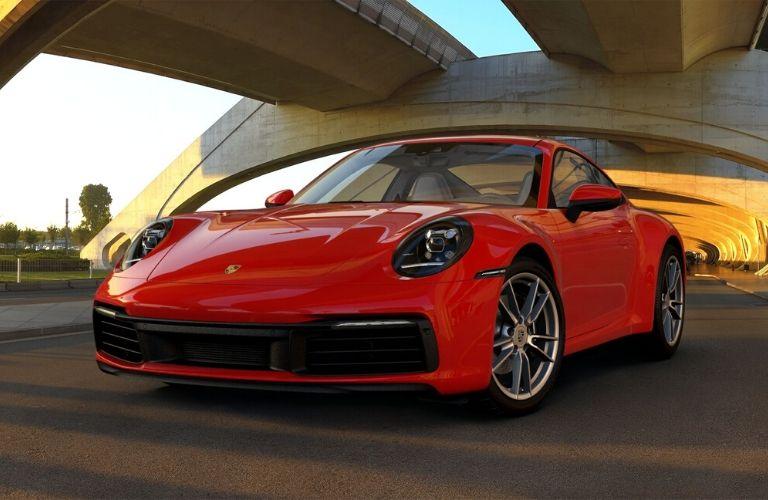 Guards Red 2019 Porsche 911 Carrera