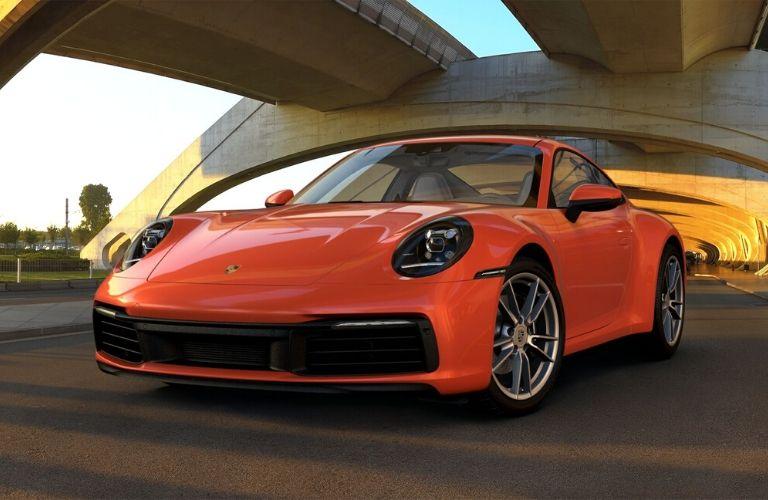 Lava Orange 2019 Porsche 911 Carrera
