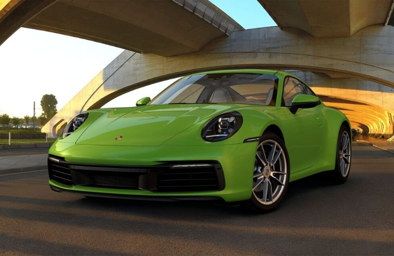 Lizard Green 2019 Porsche 911 Carrera
