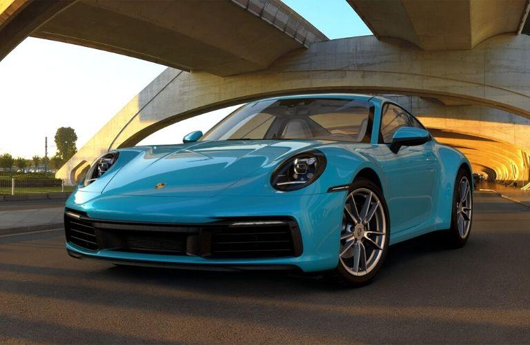 Miami Blue 2019 Porsche 911 Carrera