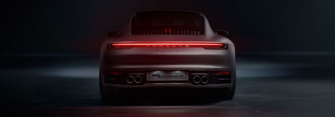 2020 Porsche 911 Carrera S from exterior rear