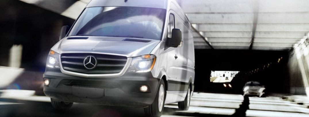 How much cargo space is there in the Mercedes-Benz Sprinter?