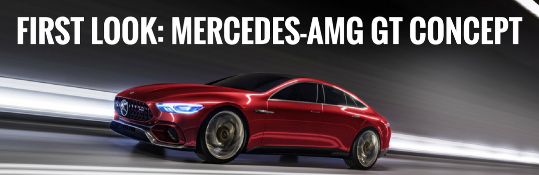 New Mercedes-AMG GT Concept Design and Engine Specs