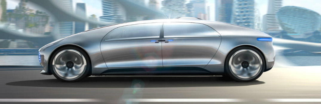 "What is the Mercedes-Benz F 015 ""Luxury in Motion"" Research Vehicle?"