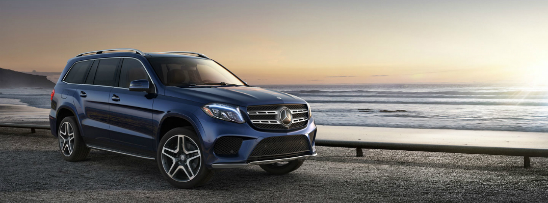 2018 Mercedes-Benz Parked Near the Ocean