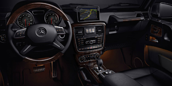 Available Technology Features On The 2018 Mercedes Benz G Class