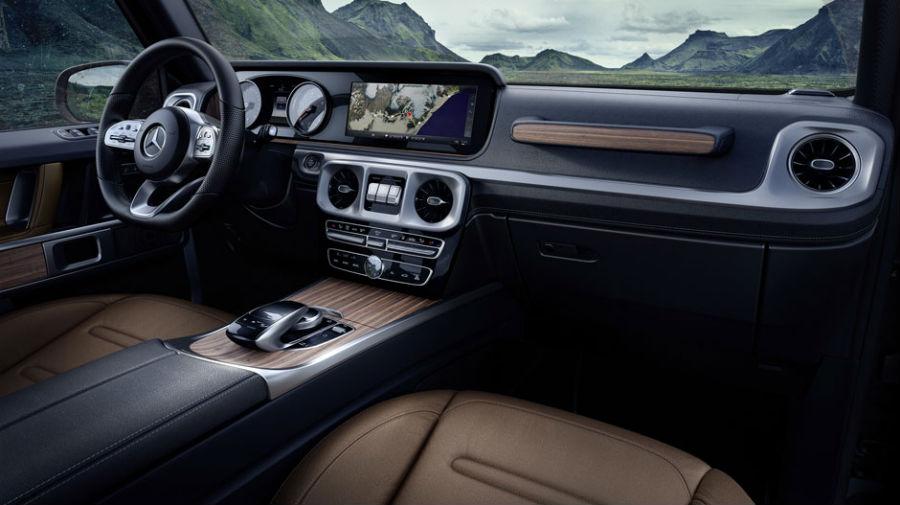 2019 Mercedes-Benz G-Class Technology & Specs