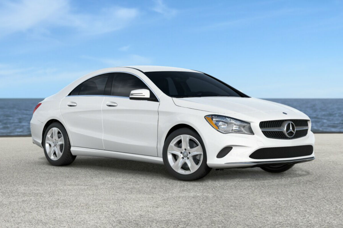 2018 Mercedes-Benz CLA in Cirrus White