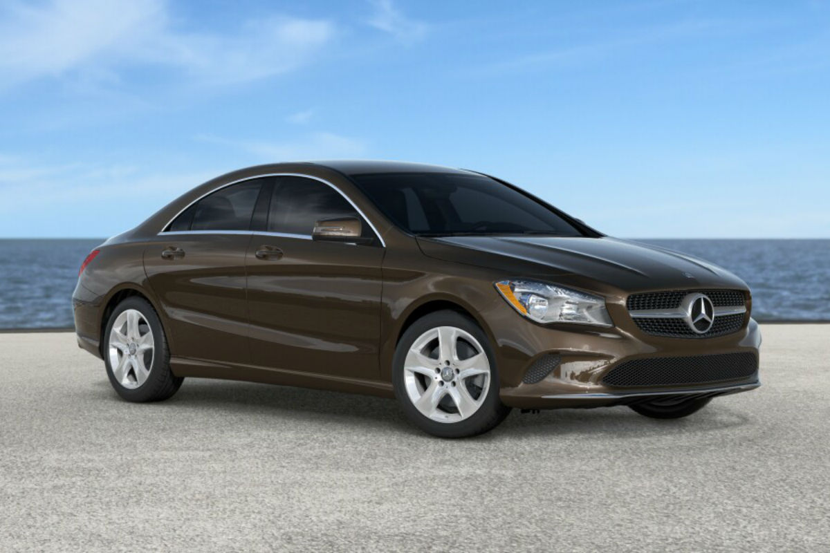 2018 Mercedes-Benz CLA in Cocoa Brown Metallic
