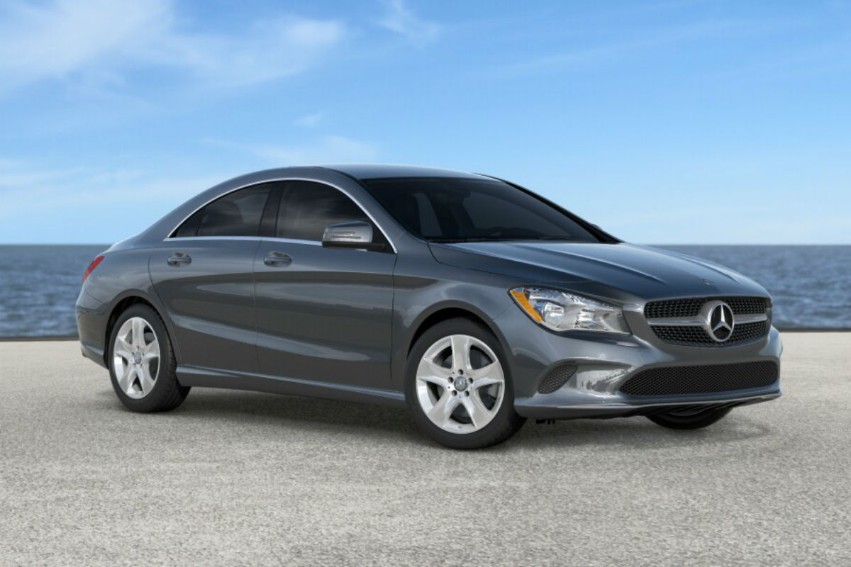 2018 Mercedes-Benz CLA in Mountain Gray Metallic