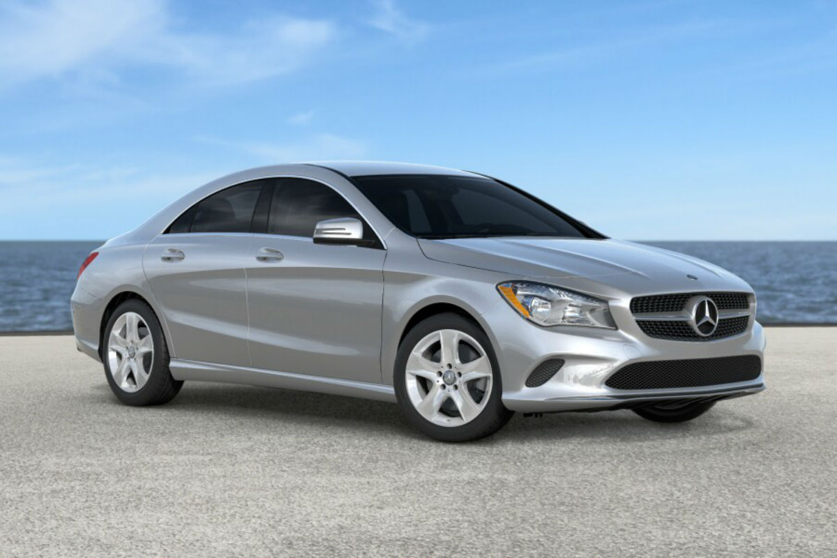 2018 Mercedes-Benz CLA in Polar Silver Metallic