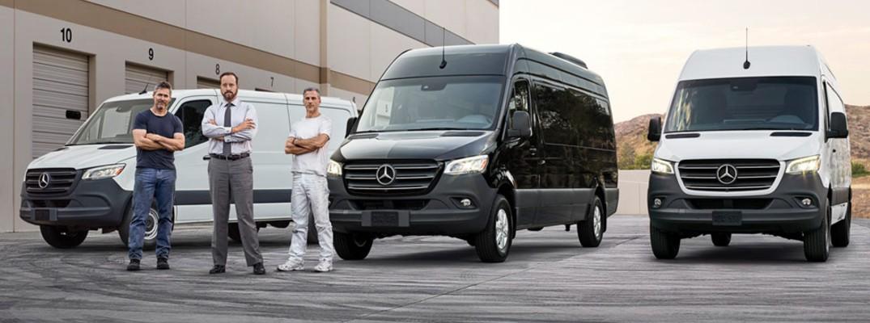 2019 Mercedes-Benz Sprinter Passenger Vans multiple with three people
