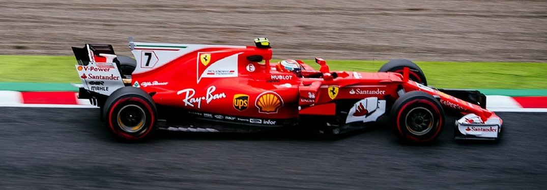 Kimi Raikkonen at the Japanese Grand Prix in 2017