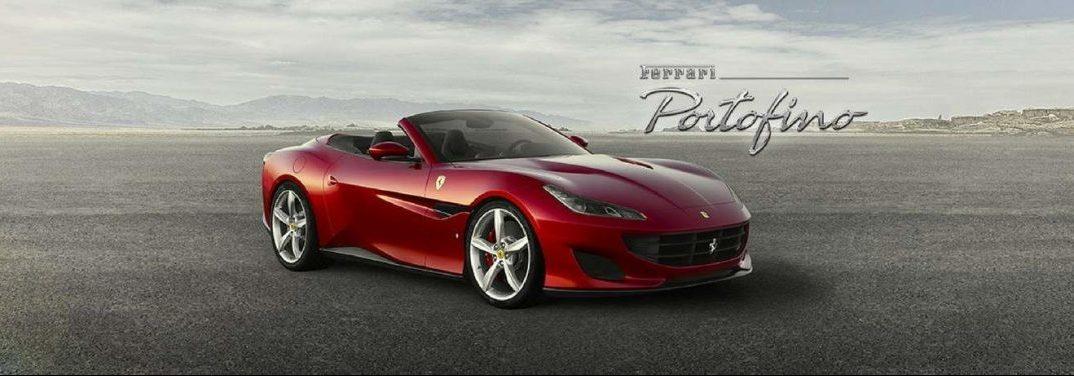 full view of the 2018 Ferrari Portofino