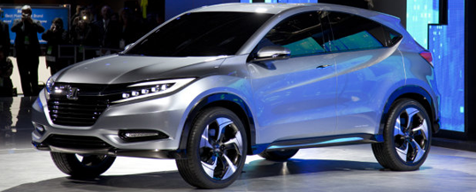 Honda Unveils New Urban Suv Concept At The Detroit Auto Show