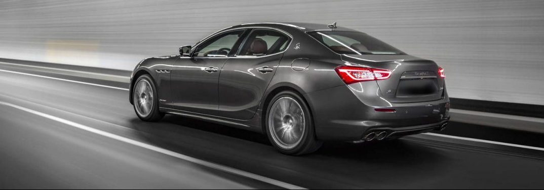 full view of the 2018 Maserati Ghibli