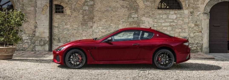 profile view of the 2018 Maserati GranTurismo MC