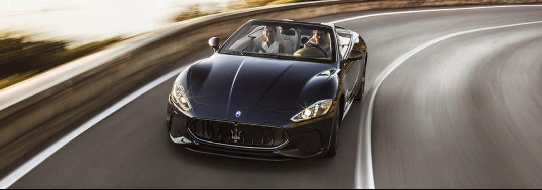 full view of the 2018 Maserati GranTurismo Convertible