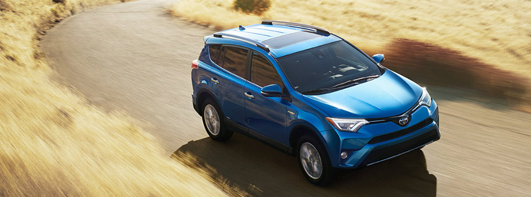 2017 Toyota RAV4 cargo volume and specifications