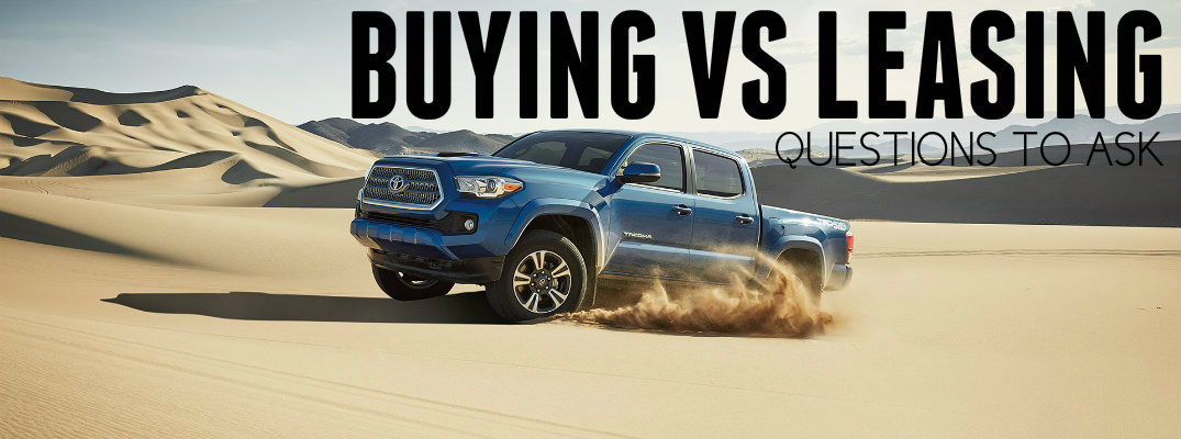 Buying vs Leasing Pros and Cons