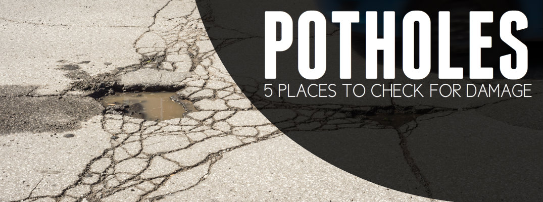 5 Common Pothole Damage Points