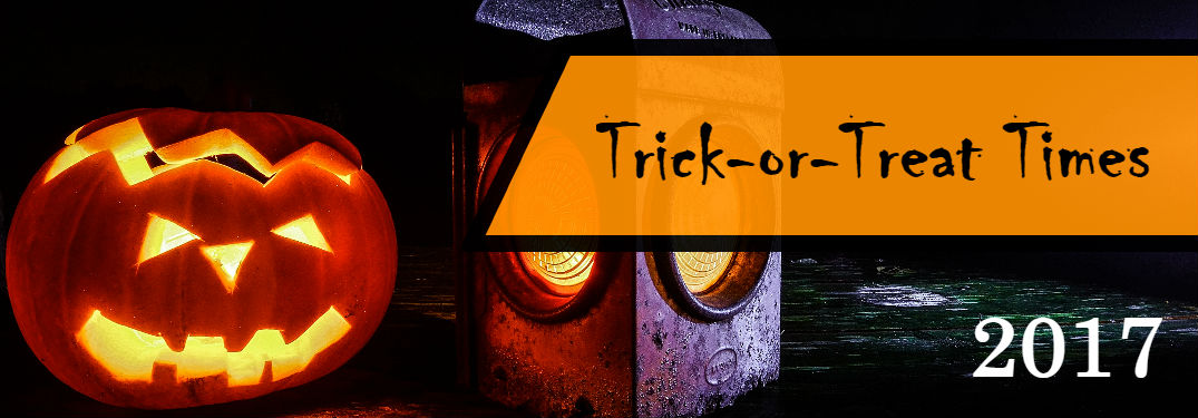 2017 Trick or Treat Hours and Tips Lexington, MA