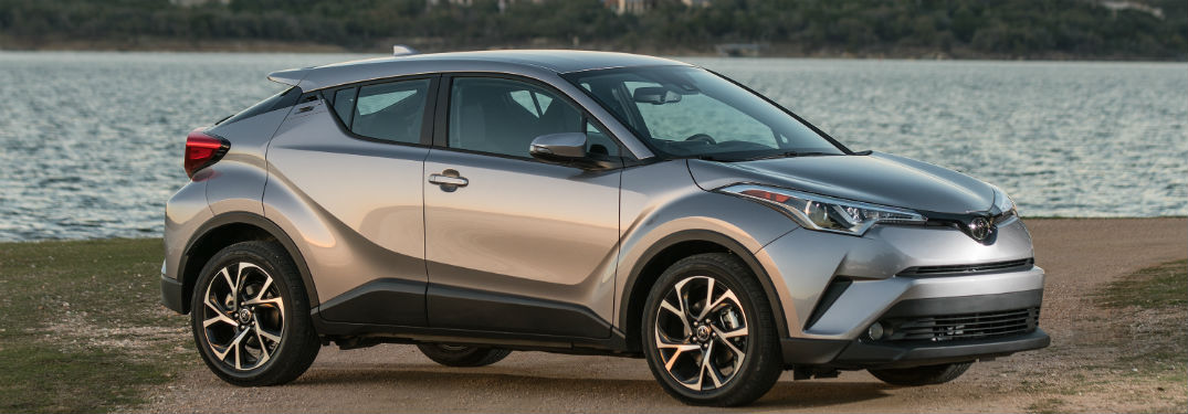 2018 toyota c-hr on a beach near lexington ma