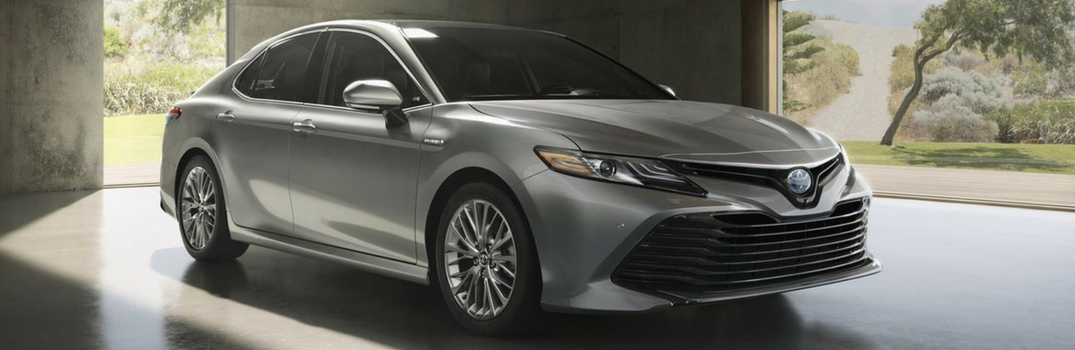 2018 Toyota Camry parked outside