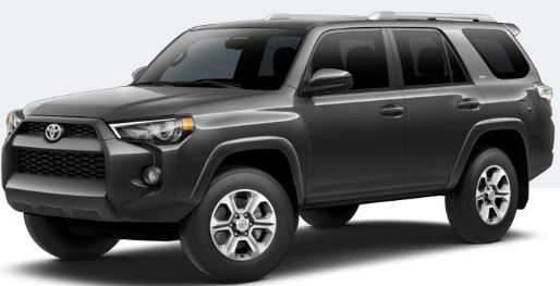 2018 Toyota 4Runner Magnetic Gray Metallic