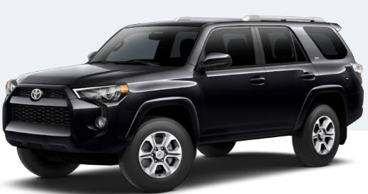 2018 Toyota 4Runner Midnight Black Metallic