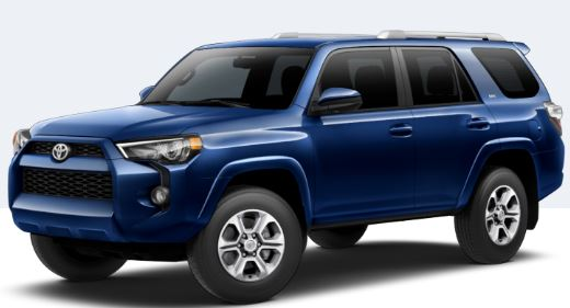 2018 Toyota 4Runner Nautical Blue Metallic