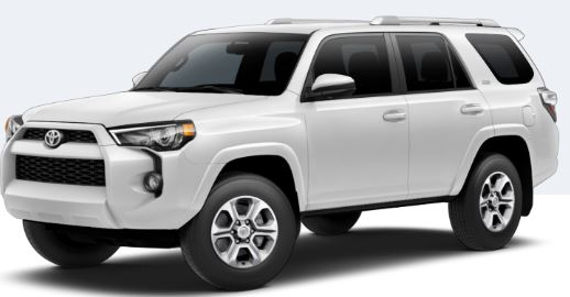 2018 Toyota 4Runner Super White