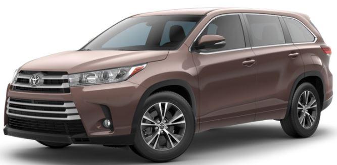 2018 Toyota Highlander Toasted Walnut Pearl