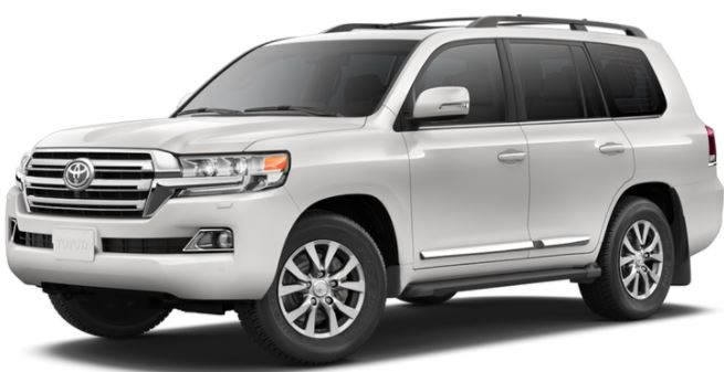 2018 Toyota Land Cruiser Blizzard Pearl