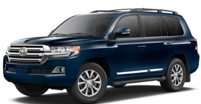 2018 Toyota Land Cruiser Color Options