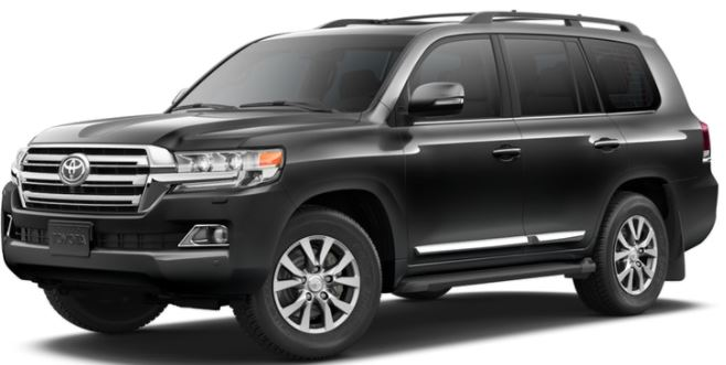 2018 Toyota Land Cruiser Magnetic Gray Metallic