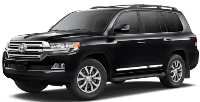 2018 Toyota Land Cruiser Midnight Black Metallic