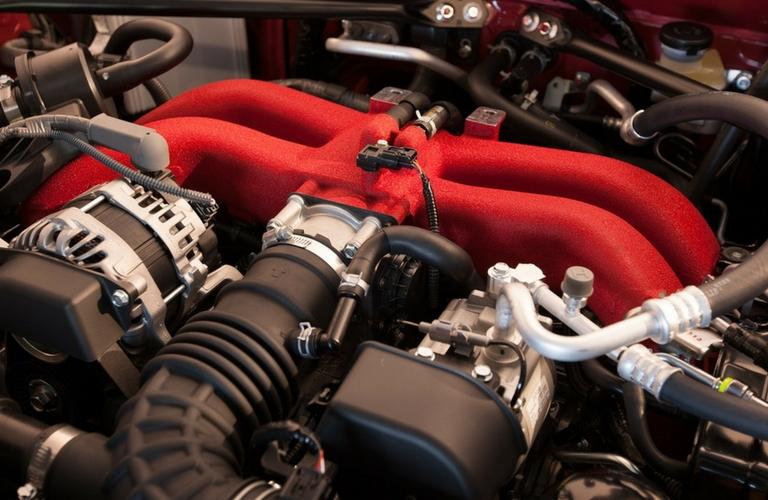 2018 Toyota 86 Engine view.