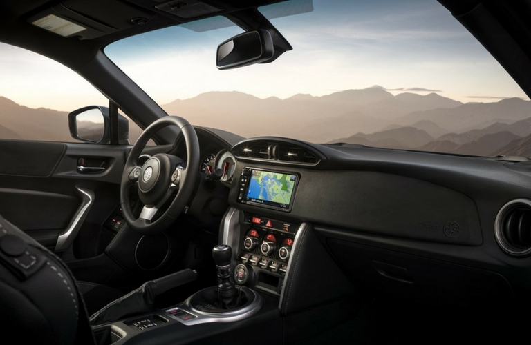 2018 Toyota 86 Steering and Dash view.
