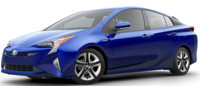 2018 Toyota Prius Blue Crush Metallic